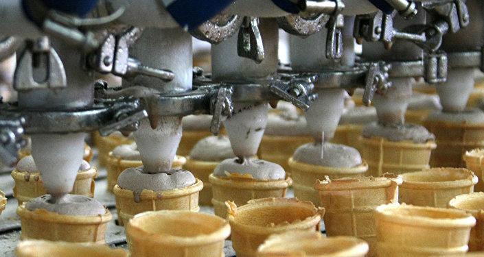 Предприятие по выпуску мороженого