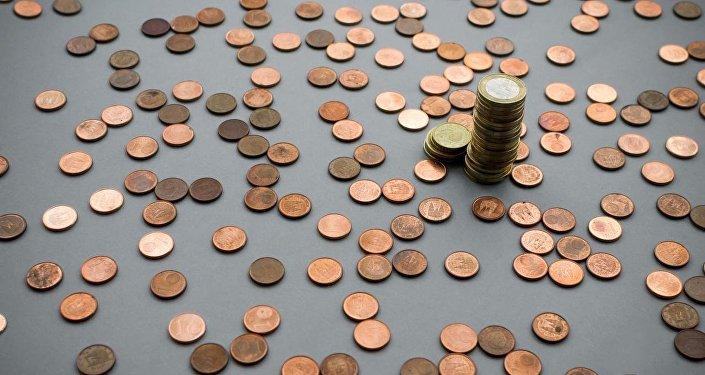 Eiro monētas. Foto no arhīva.