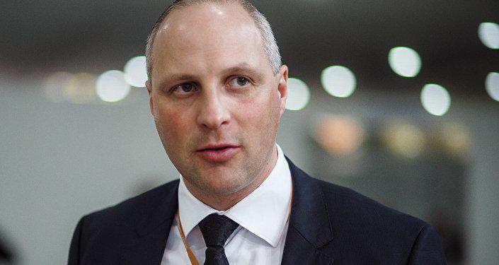 Satiksmes ministrijas valsts sekretārs Kaspars Ozoliņš. Foto no arhīva