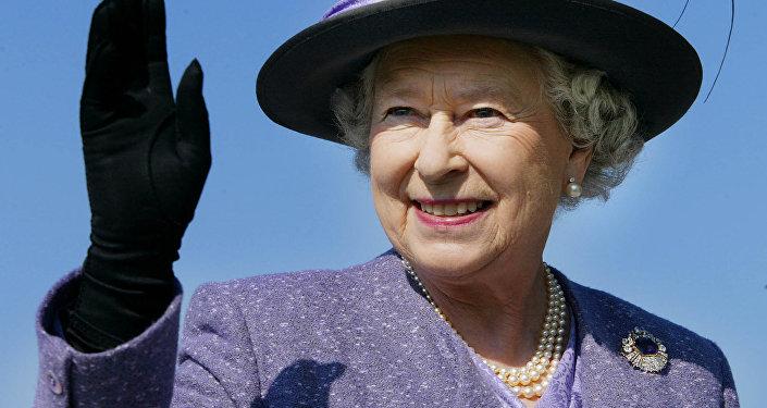 Lielbritānijas karaliene Elizabete II. Foto no arhīva