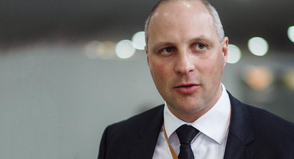 Госсекретарь Министерства сообщения Латвии Каспарс Озолиньш