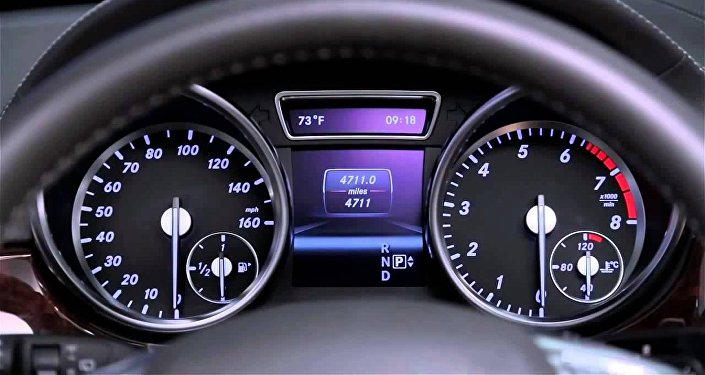 Mercedes Benz с системой Keyless go