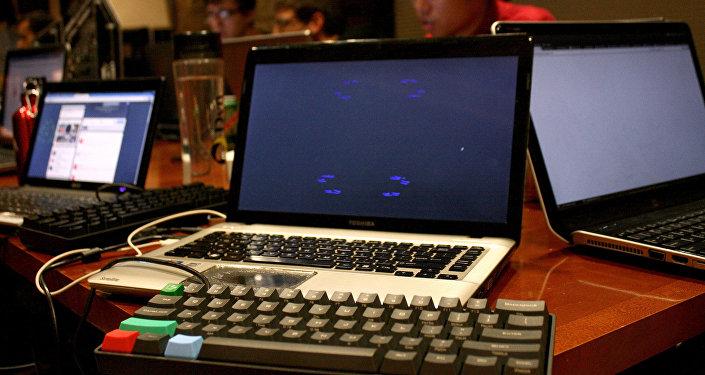 Компьютер. Архивное фото