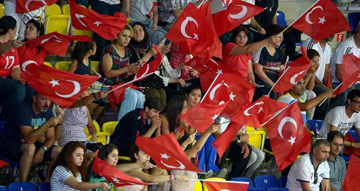 Турецкие болельщики. Архивное фото