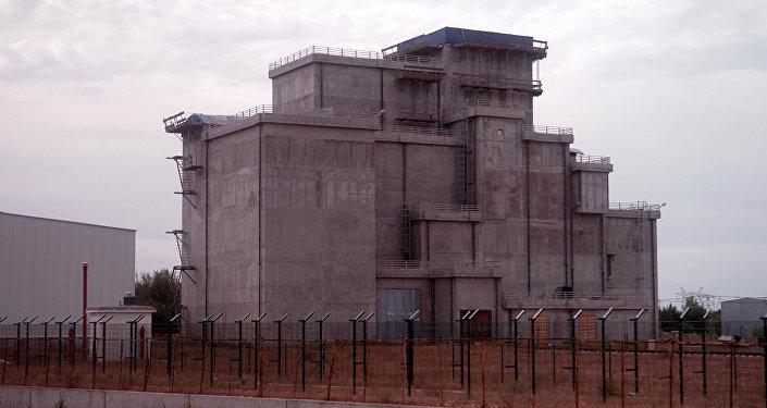 На территории АЭС