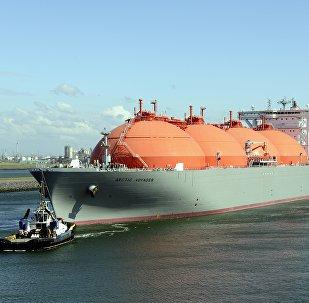 Sašķidrinātās dabasgāzes transporta kuģis