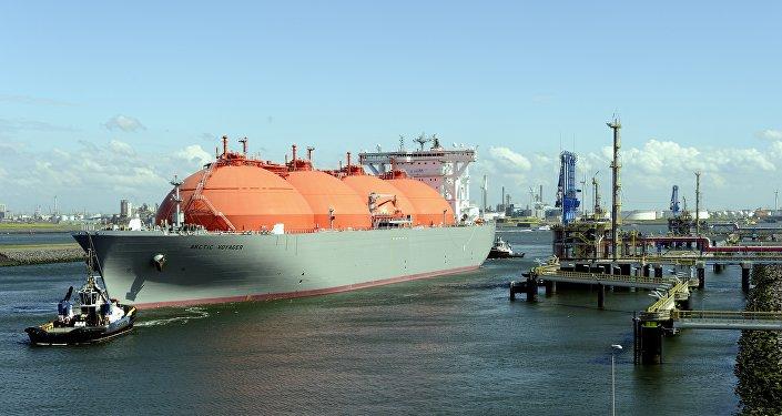 Судно предназначенное для транспортировки сжиженного природного газа