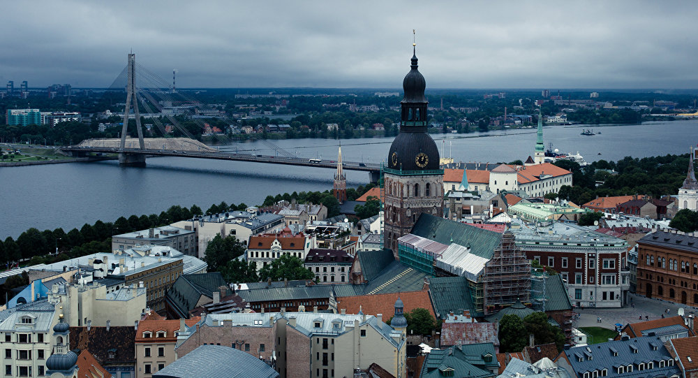 Город Рига. Архивное фото