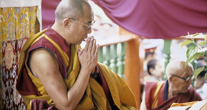 Dalailama XIV. Foto no arhīva