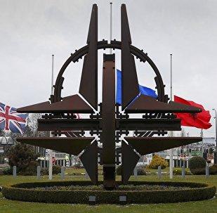 NATO galvenā mītne Briselē. Foto no arhīva