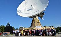 Бывший совсекретный объект СССР радиотелескоп RT–32 Звездочка