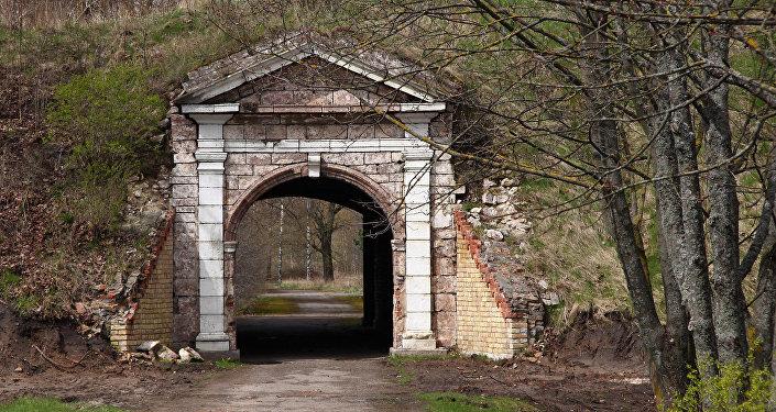 Главный вход в крепость - Рижские ворота