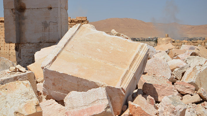 Древние развалины Пальмиры