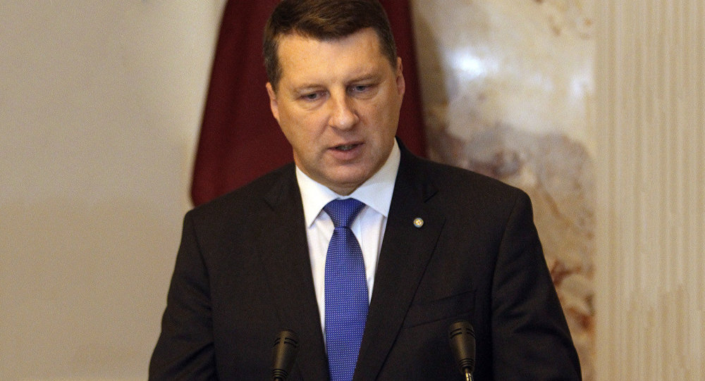 Latvijas prezidents Raimonds Vējonis. Foto no arhīva