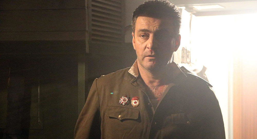 Александр Мирский во время съемок фильма Альтернатива Гутмана