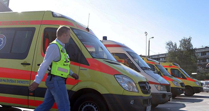 Ātrās palīdzības mašīnas Rīgā