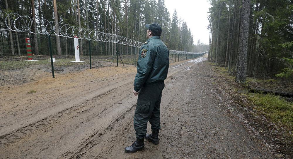 Pie Latvijas un Krievijas robežas