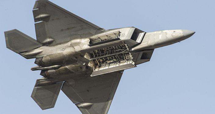 Amerikāņu iznīcinātājs F-22