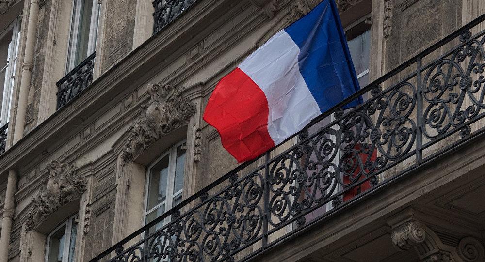 Francijas valsts karogs. Foto no arhīva