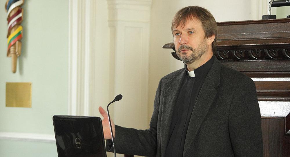 Latvijas Evanģēliski luteriskās baznīcas arhibīskaps Jānis Vanags