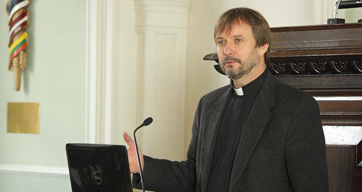 Архиепископ Латвийской евангелическо-лютеранской церкви Янис Ванагс. Архивное фото