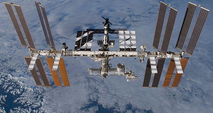 МКС на орбите, архивное фото
