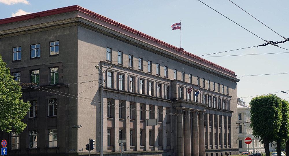 Здание кабинета министров Латвии в Риге. Архивное фото