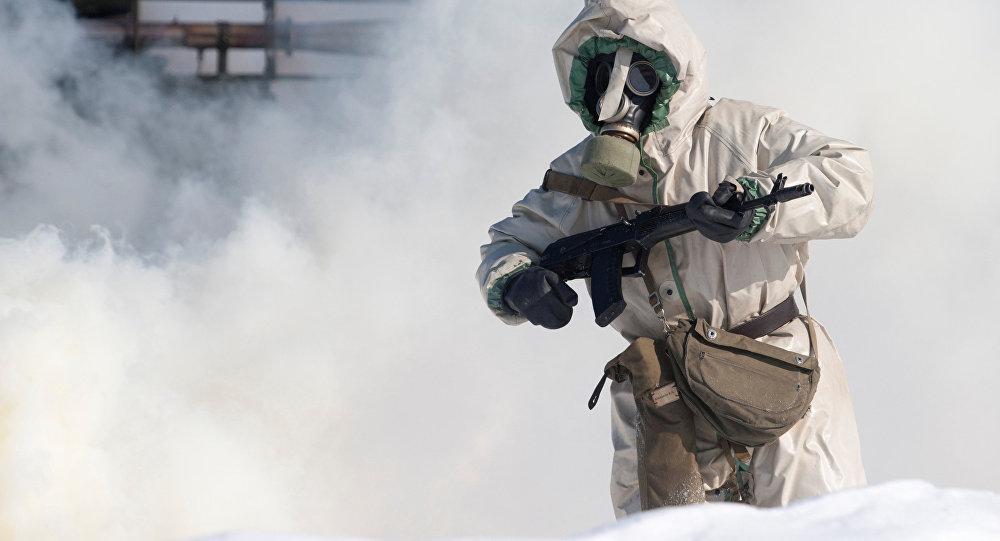 Войска радиационной, биологической и химической защиты. Архивное фото