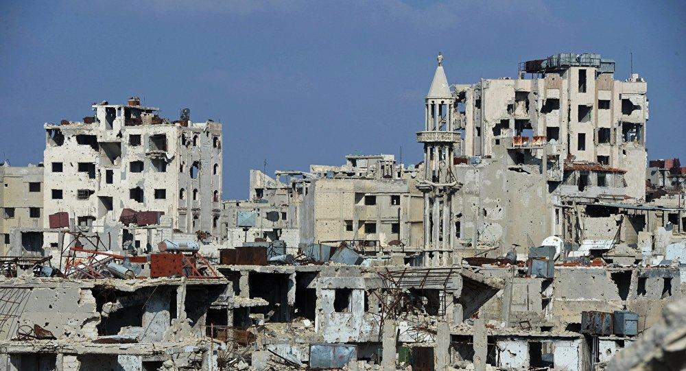 Homsas pilsēta Sīrijā