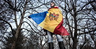 Moldovas karogs