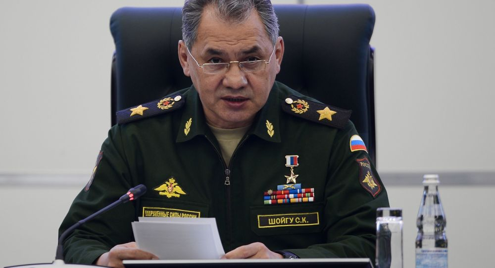 Krievijas aizsardzības ministrs, ģenerālis Sergejs Šoigu