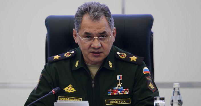 Krievijas aizsardzības ministrs, armijas ģenerālis Sergejs Šoigu. Foto no arhīva