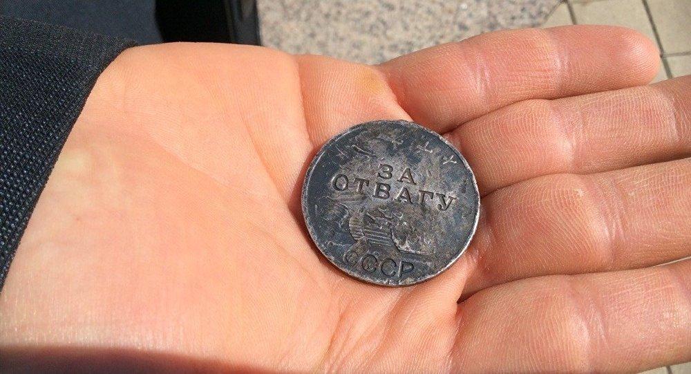 Медаль За отвагу советского разведчика. Архивное фото