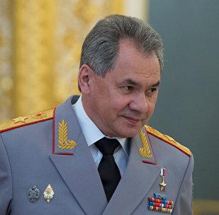 Krievijas aizsardzības ministrs Sergejs Šoigu
