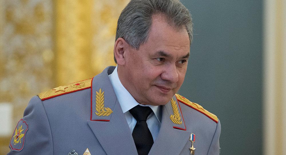 Krievijas aizsardzības ministrs Sergejs Šoigu. Foto no arhīva