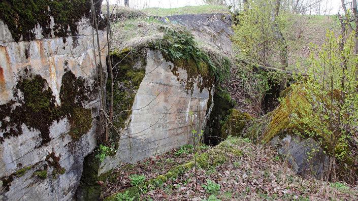 Самые мощные укрепления, на которых стояли орудия, - из бетона, построены в 1912 году. Эту батарею взорвали эстонские диверсанты в 1919-м