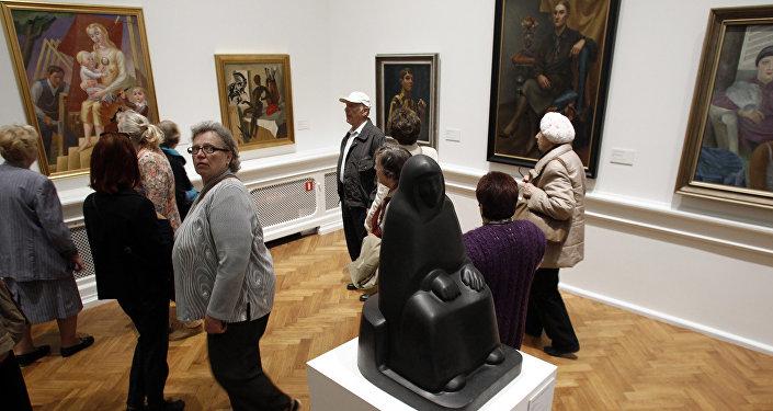 Открытие Национального Художественного музея.