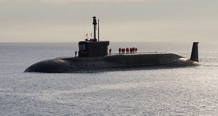 Атомная подводная лодка (АПЛ) Юрий Долгорукий. Архивное фото