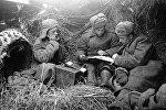 Великая Отечественная война 1941-45 гг, связисты. Архивное фото