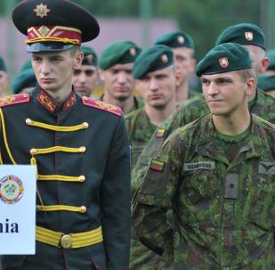 Литовские военнослужащие, архивное фото