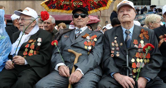 Militārā parāde par godu uzvaras Lielajā Tēvijas karā 71. gadadienai