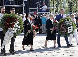 9.maija svinēšana Rīgā.