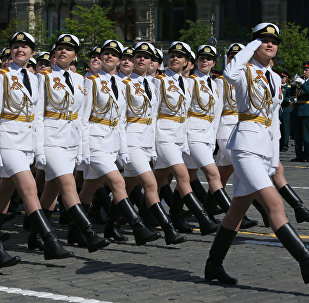 Военный парад в честь 71-й годовщины Победы в ВОВ