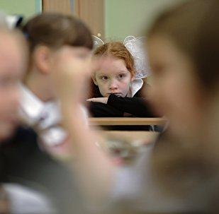 Mācību klasē. Foto no arhīva