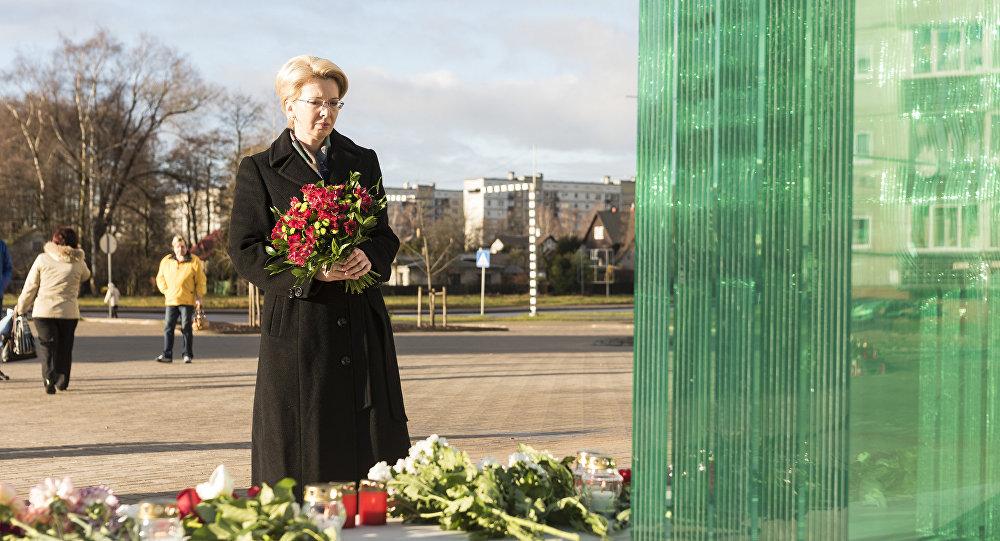 Памятник жертвам трагедии в Золитуде. Архивное фото
