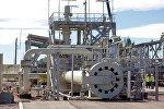 Камеры запуска поршней в начале нитки газопровода Северный поток