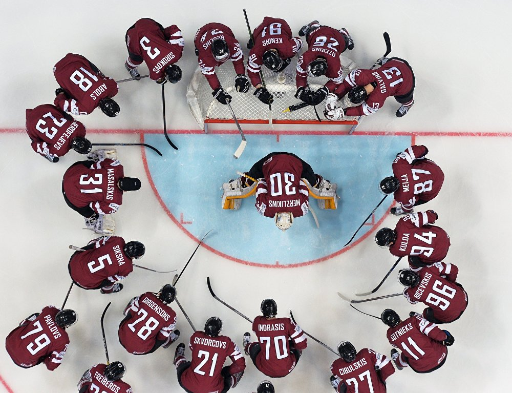 Хоккей. Чемпионат мира. Матч Швеция - Латвия