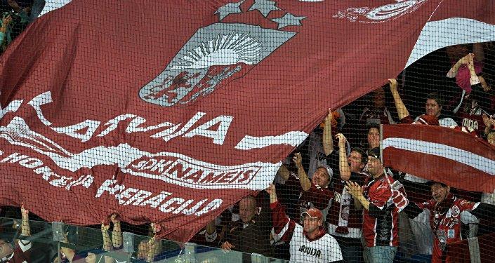 Болельщики сборной Латвии. Архивное фото