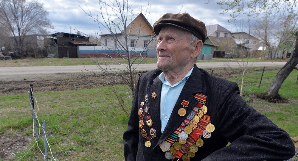 Ветеран ВОВ Григорий Скрипов из Челябинской области
