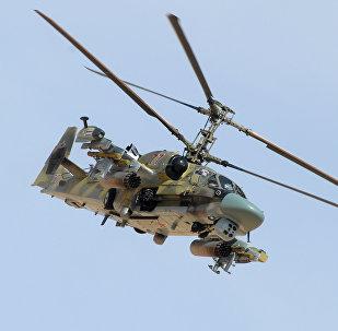 Ka-52 (Aligators) – jaunākās paaudzes armijas helikopteris. Paredzēts sauszemes mērķu, nelielā ātrumā lidojošu mērķu un dzīvā spēka iznīcināšanai. Trieciena helikoptera Ka-59 (Melnā haizivs) divvietīga modifikācija.